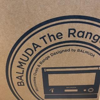 バルミューダ(BALMUDA)の【新品未使用】 バルミューダ  ザ レンジ K04A ブラック BK(電子レンジ)