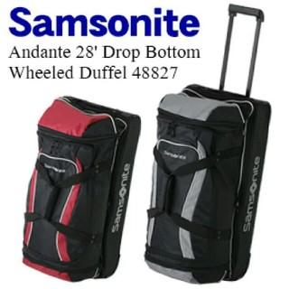 サムソナイト(Samsonite)のSamsonite ソフトキャリーバッグ (グレー(トラベルバッグ/スーツケース)