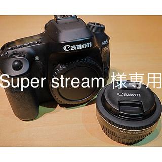 キヤノン(Canon)のCanon EOS80D+EFS 24mm f/2.8 STM(デジタル一眼)