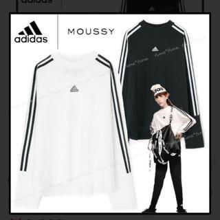 アディダス(adidas)のadidas moussy トップス ロンT(カットソー(長袖/七分))