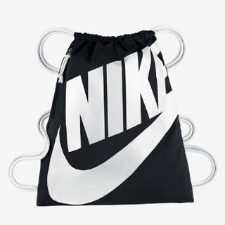 ナイキ(NIKE)のナップサック ブラック&ホワイト 新品♪ 1点(バッグパック/リュック)