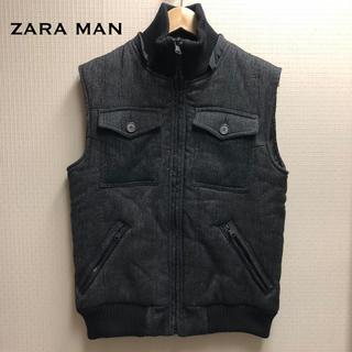 ZARA - ZARA MAN中綿ベスト フードベスト 送料込