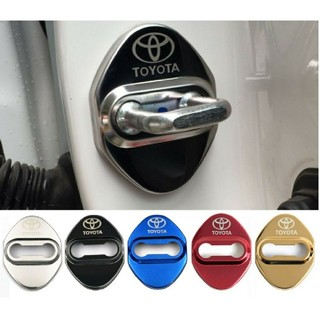 TOYOTA トヨタドアロックカバー 4個セット ドアストライカー(汎用パーツ)