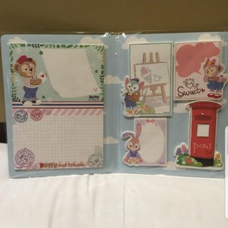 Disney - 日本未発売 上海 シェリーメイ ダッフィー 付箋 メモ ディズニーランド