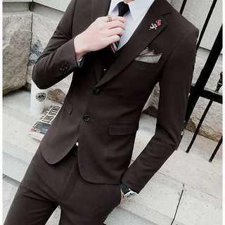 セットアップ 無地 スーツメンズ 紳士 スーツジャケット 着痩せzb387(セットアップ)
