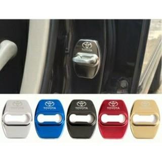 TOYOTA ドアロックカバー  4個セット  ドアストライカー(汎用パーツ)