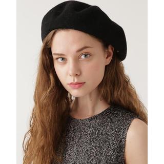 ジルスチュアート(JILLSTUART)のジルスチュアート ベレー帽 レッド(ハンチング/ベレー帽)