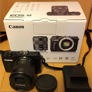 キヤノン(Canon)の保証あり&おまけ付き!Canon EOS M EF-M18-55 レンズキット(デジタル一眼)