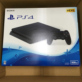 PlayStation4 - 【新品】プレイステーション4 500GB ブラック CUH-2200AB01