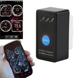 v2.1超小型OBD2アダプター ELM327 スイッチ ■診断機 スマホ(汎用パーツ)