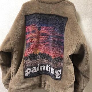 バレンシアガ(Balenciaga)のdoublet 17aw painting ファージャケット(その他)
