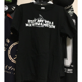 MAN WITH A MISSION - MAN WITH A MISSION ジーザスTシャツ Mサイズ
