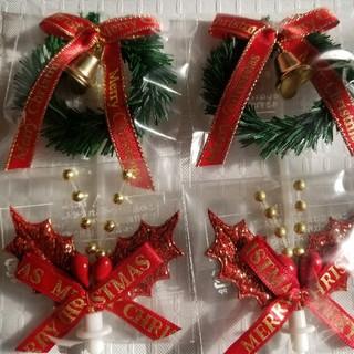 クリスマス 飾り ピックセット(インテリア雑貨)