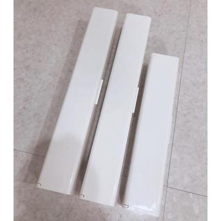 MUJI (無印良品) - 無印良品♡ラップケース3個セット ホワイト