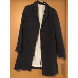 ムジルシリョウヒン(MUJI (無印良品))の無印良品 ウール混コート(チェスターコート)