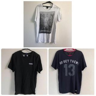 ザラ(ZARA)のメンズ♡Tシャツ 3枚セット(Tシャツ/カットソー(半袖/袖なし))