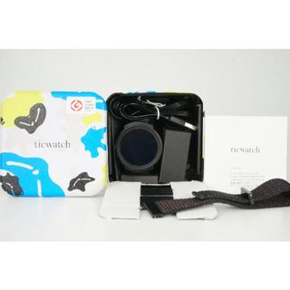 Ticwatch E 美品 スマートウォッチ 付属品完備 使用回数少 おまけ