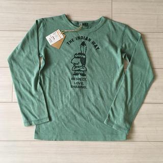 【未使用タグ付き】男の子130㎝ 長袖Tシャツ(Tシャツ/カットソー)
