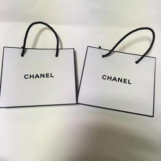 シャネル(CHANEL)のシャネル CHANEL ショップ袋 2個 ショッパー(ショップ袋)
