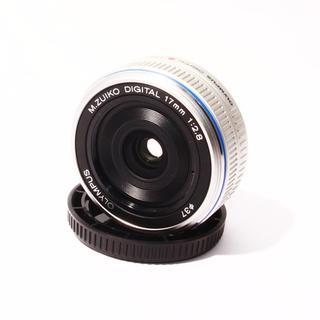 ★超薄型単焦点パンケーキ★オリンパス M.ZUIKO 17mm 2.8(レンズ(単焦点))