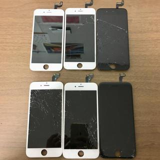 アイフォーン(iPhone)の【ジャンク品】iPhone6s×3、iPhone6×3 フロントパネル (スマートフォン本体)