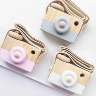 カメラ おもちゃ インスタ 子供 キッズ ベビー かわいい 木製 インテリア(その他)