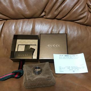 グッチ(Gucci)のグッチ  シルバーリング  #15(リング(指輪))