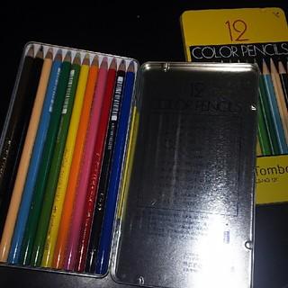 tombow12色色鉛筆(色鉛筆 )