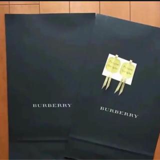 バーバリー(BURBERRY)のバーバリーラッピング紙袋二枚(ラッピング/包装)
