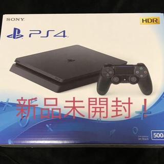 PlayStation4 - 【新品未開封】PS4スリム型 本体 CUH2200AB01