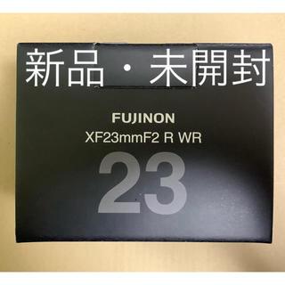 フジフイルム(富士フイルム)の新品 xf23mm f2 R WR(レンズ(単焦点))