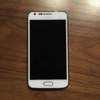 サムスン(SAMSUNG)の【ジャンク品】galaxy SⅡ LTE SC-03D(スマートフォン本体)