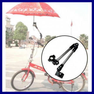 【数量限定】ベビーカー 自転車 傘スタンド 傘立て 傘ホルダーブラック(その他)