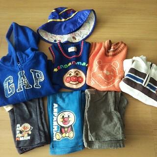 ギャップキッズ(GAP Kids)の男の子 秋冬服 まとめ売り GAP キムラタン 帽子 ベスト(その他)