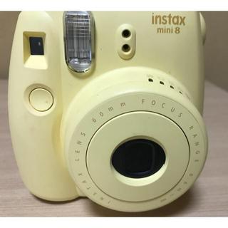 フジフイルム(富士フイルム)のチェキinstax mini8(フィルムカメラ)