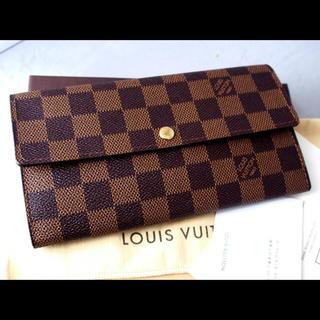 ルイヴィトン(LOUIS VUITTON)の良品 ルイヴィトン  ポルトフォイユ サラ(財布)