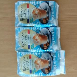 日東紅茶 塩キャラメルミルクティー8×3袋(茶)