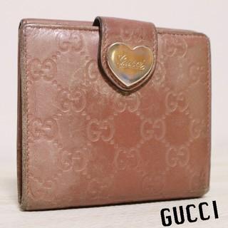 グッチ(Gucci)の正規品 グッチ シマ 二つ折り 財布(財布)