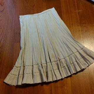 ニコル(NICOLE)のニコル フリルスカート サイズ40(ひざ丈スカート)