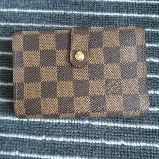 ルイヴィトン(LOUIS VUITTON)の【正規品】ルイヴィトンダミエがま口折り財布(財布)