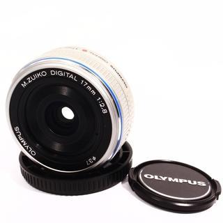 ★OLYMPUS M.ZUIKO 17mm 2.8 極上品★単焦点レンズ(レンズ(単焦点))