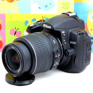 ニコン(Nikon)の❤️初心者オススメ❤️スマホ転送OK❤Nikon D5000❤️自撮,動画OK❤(デジタル一眼)