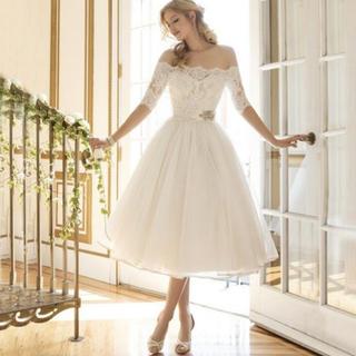 二次会花嫁ドレス パーティードレス