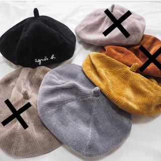 ユーデュロイ キッズベレー帽 3カラーあります♪(帽子)
