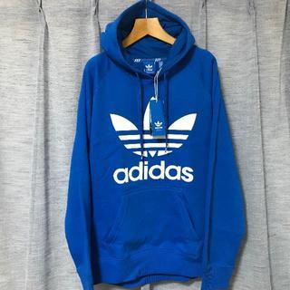 adidas アディダス パーカー ブルー