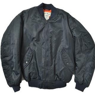 エルエルビーン(L.L.Bean)の◆L.L.Bean◆sizeExtra S MA-1 jacket 90s(ナイロンジャケット)