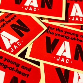 ヴァンヂャケット(VAN Jacket)のVAN 正規品ミニシール赤6枚セット!送料無料(その他)