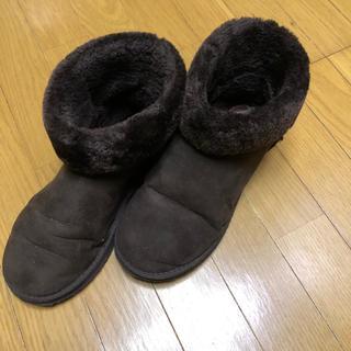 あったかボア ムートンブーツ(ブーツ)