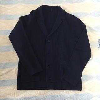 ムジルシリョウヒン(MUJI (無印良品))の無印良品 メリノウールテーラードジャケット ネイビー(テーラードジャケット)