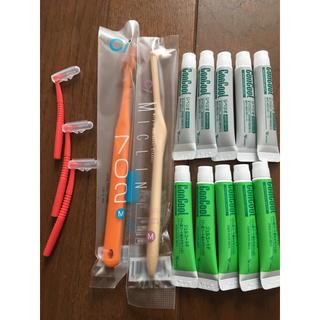 コンクール  ジェルコートF、リペリオ、歯科医院専用歯ブラシセット(歯ブラシ/歯みがき用品)